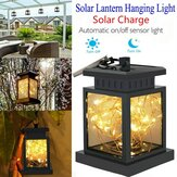 LED Solar Powered Hanging Lantern Light Outdoor Garden Table Fairy String Lamp Waterproof Courtyard Decoration