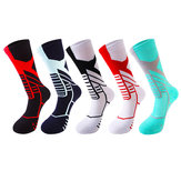 Unisex Basketball Sports Wear-Resistant Anti-Slip Tube Sock