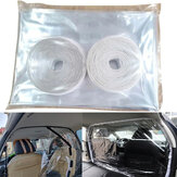 1.4*2m Taxi Driver Cab Isolation Film Transparent Protection Partition Screen