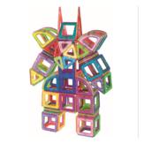 48/80/102 sztuk Pakiet magnetycznych elementów konstrukcyjnych Wczesna edukacja Puzzle dla dzieci Różne zabawki