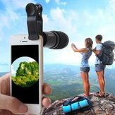 PUROO 8x21 Monocular Teleskopobjektiv für iPhone Samsung HTC Smartphone-Kamera