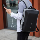 Men Oxford Cloth Large Capacity Waterproof USB Charging 16 Inch Laptop Bag Anti-theft Business Outdoor Handbag Backpack