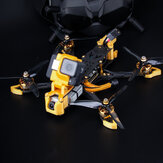 Flywoo Mr.Croc-HD 6 Polegadas 6S Freestyle FPV Racing Drone BNF DJI FPV Air Unit F7 Bluetooth FC GPS 1750KV 50A BLheli_32 ESC Gold