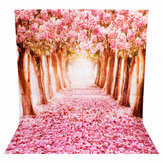 2 x 1.5m belle fleur vinyle studio photographie de rue photo backdrop