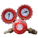 Regulador de Gás de Acetileno de 2 Calibres 0-4MPA Single Stage Welding Queima de Corte 5/8