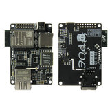 LILYGO® TTGO T-Internet-POE ESP32-WROOM LAN8720A Chip إيثرنت محول و Downloader Expansion Board الأجهزة القابلة للبرمجة