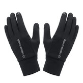 Touchscreen Handschoenen Motorfiets Scooter Waterdicht Winter Bike Fleece gevoerd