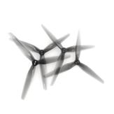 2 páry HQProp T6X2.5X3 6 palců 3listá světle šedá polykarbonátová vrtule CW CCW pro RC Drone FPV Racing Multirotor