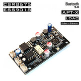 JC-SQ875 SQ875 CSR8675 Wireless Lossless bluetooth 5.0 Audio Stereo Receive bluetooth Decoder Board ES9018 DAC