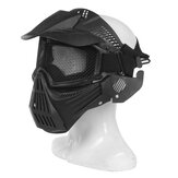 CS Direct Live Tactical Field Tactical protettivo Maschera di materiale granulare