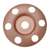 Drillpro 125mm See Through Disc Tungsten Carbide Wood Shaping Dish Wood Carving Disc for Angle Grinder