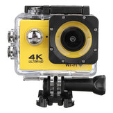 4K Action Camera WiFi Sports Camera Ultra HD 30M 170° Wide Angle Waterproof DV Camcorder with EIS Gyroscope Dual Anti Shake