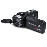 3 Zoll Ultra HD Digitaler DV-Camcorder 2.7K 16X Zoom 30MP Videokamera für Live-Vlogging-Übertragung