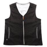 USB Electric Heated Vest Warm Winter Coat Jacket Indoor Outdoor For Women Mens
