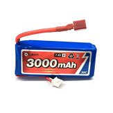 Original              Eachine 7.4V 3000mah 30C Lipo Battery T Plug For 1/12 Eachine EAT04 Wltoys 12428 12423 Feiyue RC Car Parts