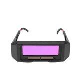 Solar Powered Auto escurecimento de soldagem Máscara Capacete Olhos Goggle Welder Óculos
