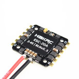 20x20mm HAKRC 20A BLheli_S BB2 2-4S 4 in 1 Brushless ESC Support DShot600 for RC Drone FPV Racing