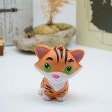 Juguete de rebote lento de la PU Squishy Simulation Cartoon Relief Little Tiger Toy