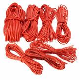 DANIU 10 Meter Rotes Silikon Draht Kabel 10/12/14/16/18/20 / 22AWG Flexibles Kabel