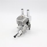 Stinger 20CC Gasoline Engine 2 Cycle Piston Value Type RE(Rear Exhaust)/SE(Side Exhaust) 6-14V 1500-105000rpm Support 1410 1508 1606 1608 1706 14/15/16/17 inch Prop for RC Airplane Fixed-Wing
