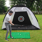 10FT / 7FT Golf Net Training Aid Bater Prática Gramado Driving Net Golf Training Net