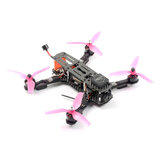 Skystars QAC250 250mm Mini Pix F4 FPV Racing Drone PNP BNF w/ 25/200/600mW VTX 1200TVL Camera