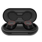 BakeeyTWSDraadlozebluetooth5.0Oortelefoon Mini Onzichtbare Auto Koppeling Bilaterale Oproep Stereo Hoofdtelefoon met Oplaaddoos