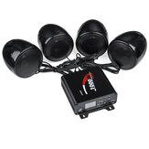 Sistema stereo stereo audio MP3 ATV UTV MP3 bluetooth 4 altoparlanti da 1000W