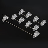 5/8Pcs 6.25U 2U Mechanical Satellite Switches PCB Plate Stabilizers For DIY Customization Mechanical Gaming Keyboard