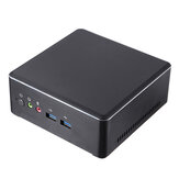 T-Bao TBOOK MN22 Mini PC AMD Ryzen 3 2200U 8GB DDR4 128GB M.2 NVME SSD PC de escritorio Dual Core Radeon Vega 3 Graphics 2.5GHz a 3.4GHz DP HD 4K Dual WiFi