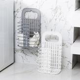 CasaBanheiroCestadelavanderiado toalete cesta de lavanderia dobrável Cestas do armazenamento do brinquedo