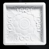 40x40 СМ Главная DIY Сад Path Maker Дорога Мощение Цемент Камень Плесень Плесень Кирпичные Украшения
