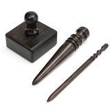 DIY Leren Handwerk Handgereedschap Trimmen Slicker Houten Stick 3-Maat