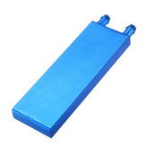 40 * 120 0,5 mm Aleación de aluminio azul Refrigerador de agua Refrigerador de líquido Refrigerador de líquido Equipo de disipador de calor