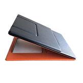 Многофункциональная подставка для ноутбука Портативная складная подставка для ноутбука из искусственной кожи