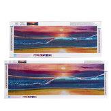5D barkácsfestmény falfestmény teljes fúrású hímzés lakberendezéshez rajzfilm állati ajándék tengerparti díszítés