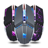 T-Wolf V7 Wired Gaming Mouse Macro Programming Mouse 7 Buttons Adjustable 4800DPI Optical Mechanical Gaming Mice RGB Backlight for PC Computer Gamer