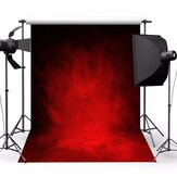 5x7ft Retro Dark Red Theme Fotografia Vinyl Tło Studio 2.1mx 1.5m