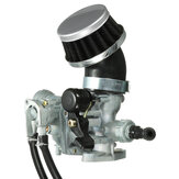 Carb Carburetor With Air Filter For Honda ATV 3-Wheeler ATC70 1978-1985