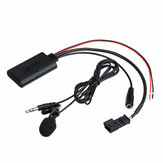 Car Wireless Audio Cable Adapter with bluetooth Microphone For BMW E54 E39 E46 E38 E53 X5