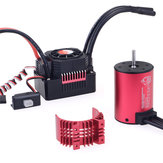 Surpass Hobby 3650 3600KV RCカーモーター+ 45a 1/10 RCモデルドリフト用ESC 2-3Sドリフト