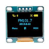 5Pcs 0,96 polegadas Azul amarelo IIC I2C OLED Módulo de exibição Geekcreit para Arduino - produtos que funcionam com placas oficiais Arduino