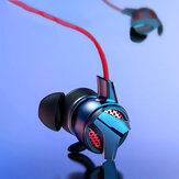 Baseus H15 3.5MM Wired Gaming HiFi Earphone In-ear Music Stereo Earbuds with Microphone