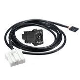 Car Audio AUX Вспомогательный кабель Разъем Набор 32Pin 4Pin Коннектор Для Mazda 2 3 5 6 CX-7 CX-9 RX-8 MX-5 Miata 2006+