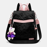Women Anti-theft Backpack Large Capacity Casual Bag