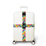 Honana Colorful Crossbagageriem Koffers Riemen Reisetiketten Accessoires Geschikt voor 20