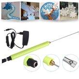Elektryczny nóż do cięcia pianki o długości 10 cm Styropian Cięcie styropianu Narzędzie do majsterkowania AC100-240V