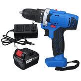 48 V 1500 RPM Elétrica Hammer Broca Sem fio 28N.m LED Chave de fenda com 1 unidade ou 2 unidades Bateria