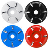 Woodworking Wood Carving Disc Tool Six-Tooth Blade For 16mm Aperture Angle Grinder