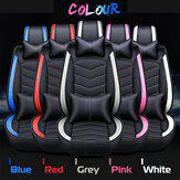 PU Leather Car Seat Cover for 5 Seats Universal Wear-Resistant